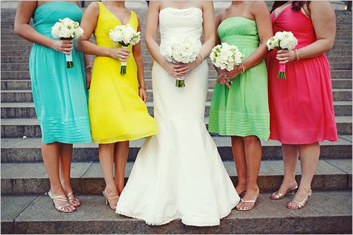 What Colours Not To Wear To A Wedding: 25+ Best Ideas About Bright Bridesmaid Dresses On