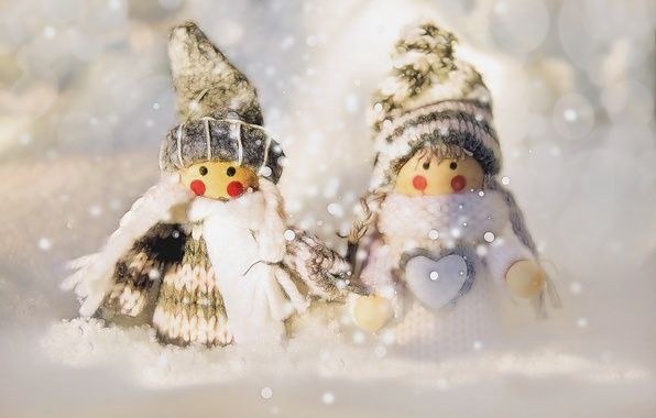 Wallpaper macro, holiday, toys images for desktop, section новый год - download