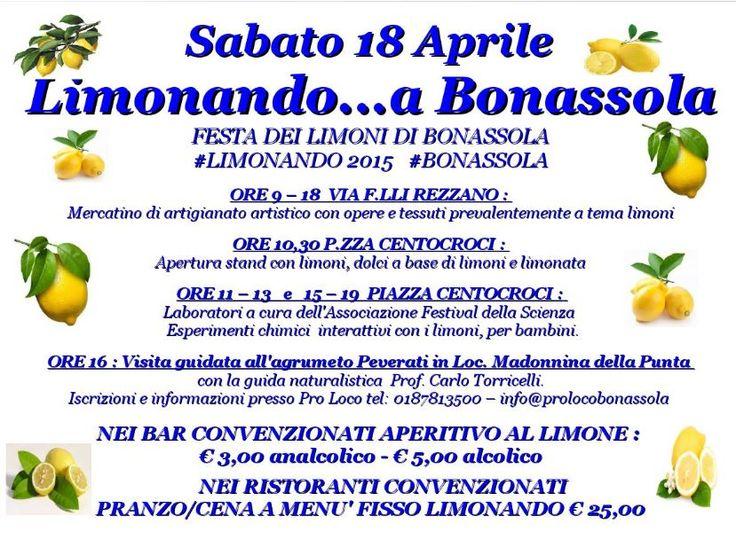 #Limonando2015 a #Bonassola...Festa dei limoni, prodotti gastronomici ed artigianato...#ligurianevents