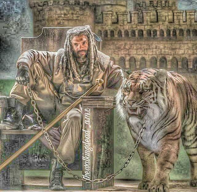 King Ezekiel and Shiva artwork