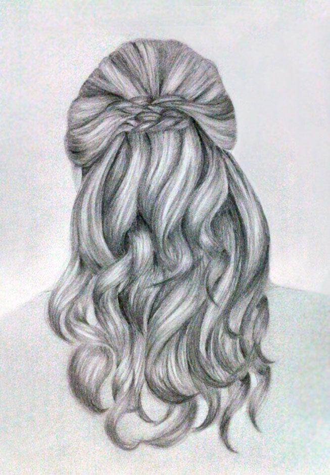 hair sketch kinannti deviantart
