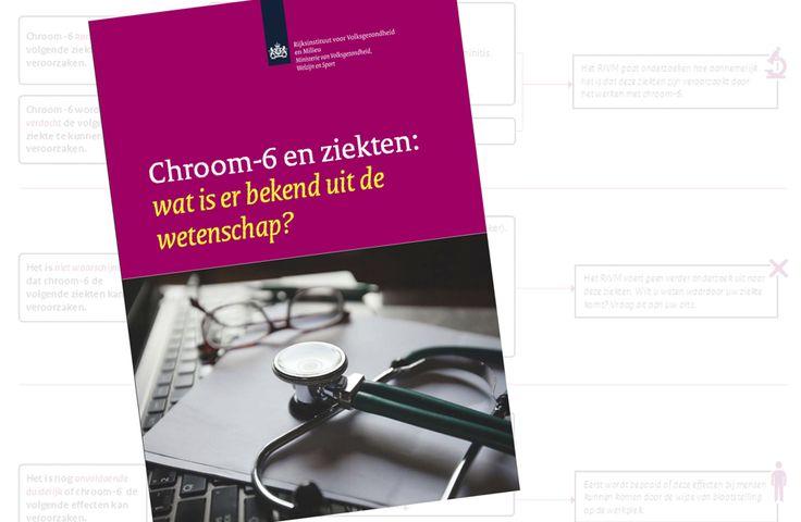 Het Rijksinstituut voor Volksgezondheid en Milieu (RIVM) heeft het literatuuronderzoek naar de effecten van chroom gepubliceerd.