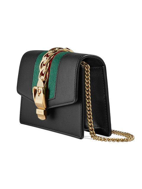 03f1880d3ca Gucci Sylvie leather mini chain bag