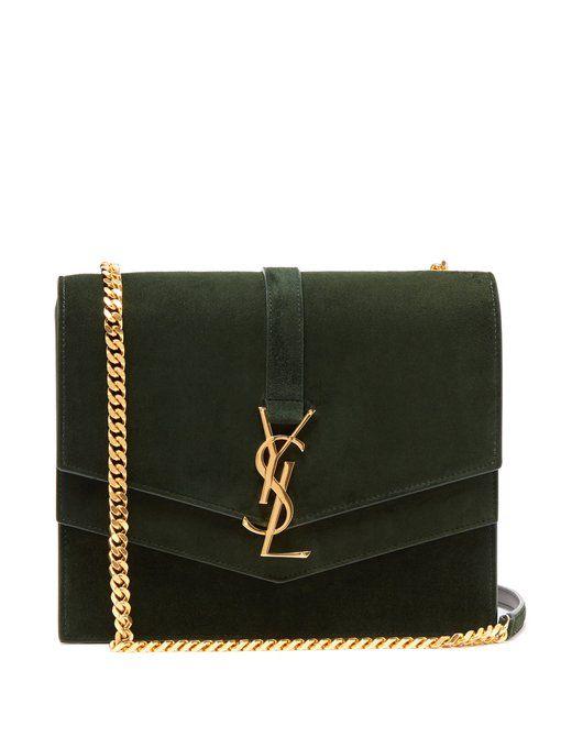07606773997 Saint Laurent Sulpice medium suede cross-body bag   Bags in 2019 ...