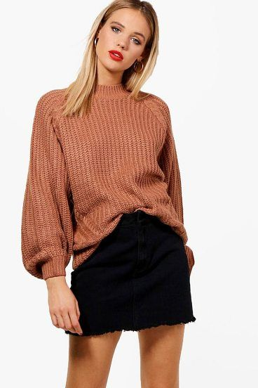 Grace Cable Knit Jumper by Boohoo. Nail new season knitwear in the jumpers and cardigans that are cosy yet coolGo back to nature with your knits this season and add animal motifs to your must-haves. When you're not wrapping up in woodland warmers, nod to chunky Nordic kni... #boohoo