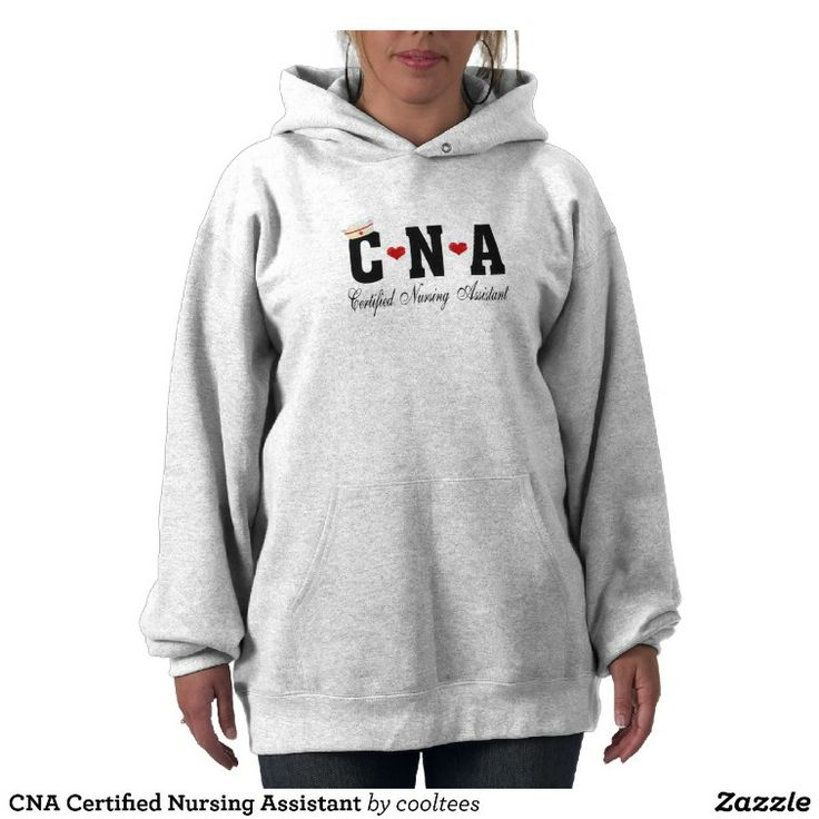 CNA Certified Nursing Assistant Hooded Sweatshirts 76