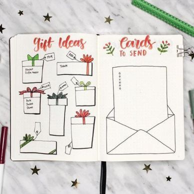 21 Christmas Bullet Journal Ideas For December