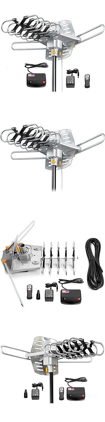 Antennas and Dishes: Amplified Tv Antennas Hd Digital Outdoor Hdtv Antenna 150 Miles Long Range With -> BUY IT NOW ONLY: $43.59 on eBay!