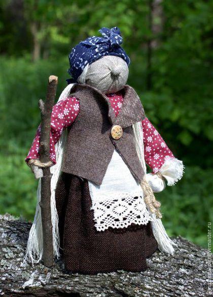 """Народные куклы ручной работы. Ярмарка Мастеров - ручная работа. Купить Кукла-оберег """"Баба Яга"""". Handmade. Народные куклы"""