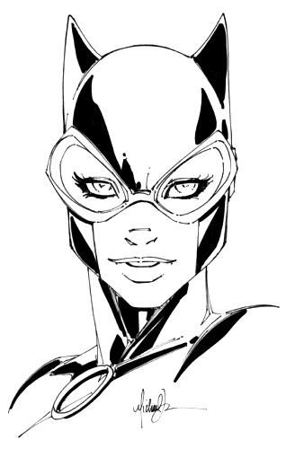 Catwoman by Michael Turner