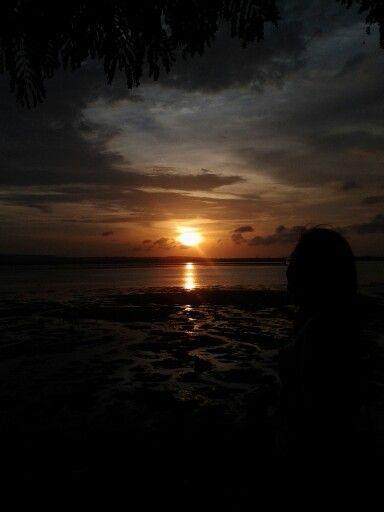 Beautiful Sunset - Tanjong Benoa, Bali