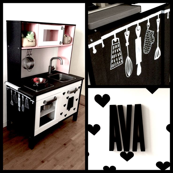 21 best ikea kinderkeuken pimpen images on pinterest. Black Bedroom Furniture Sets. Home Design Ideas
