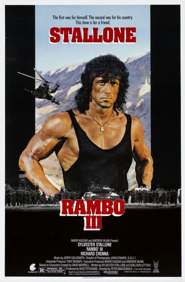 """ Rambo III "" de Peter Mac Donald (1988)"