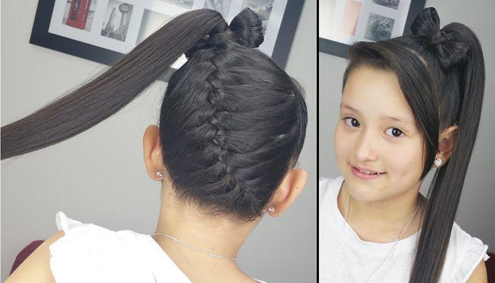 Peinados facil de hacer trenza 700 400 - Como hacer peinados faciles y bonitos ...
