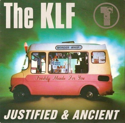 THE KLF Justified And Ancient Vinyl Record 7 Inch KLF 99 1991