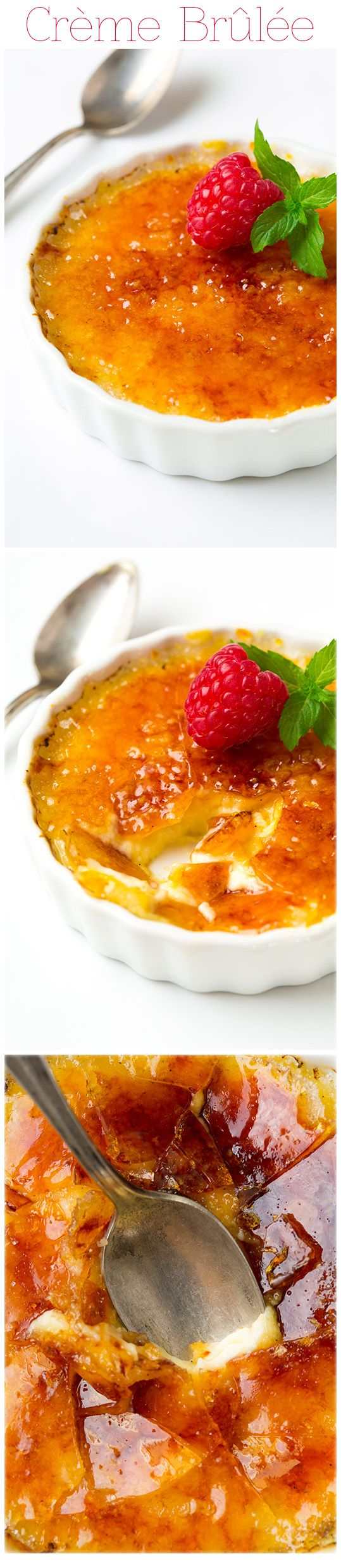 Crème Brûlée - This is one of my all time favorite desserts! LOVE this recipe!