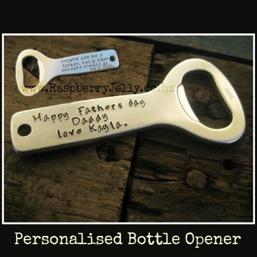 Lets give a great cheer and use this to open your beer! Looking for a present for the wonderful man in your life? Then this Bottle Opener is Perfect
