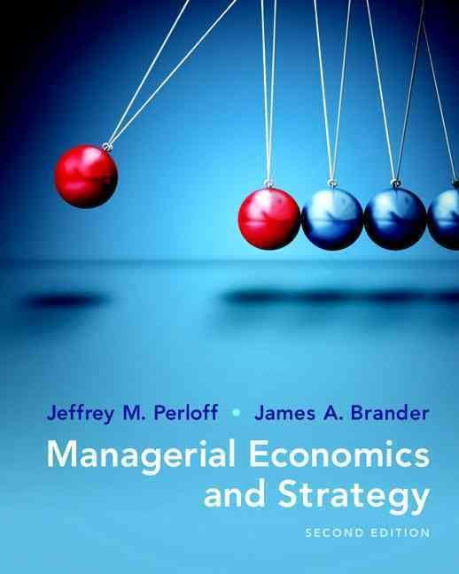 Managerial Economics amp Business Strategy McgrawHill Series Economics