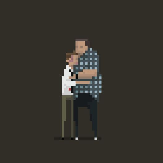 """8 of Your Favorite Cult Movies Brought to Life as 8-Bit GIFs 