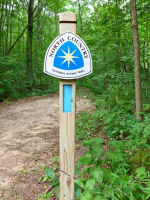 North Country Trail--30 min away and some of the best hiking Michigan has to offer!