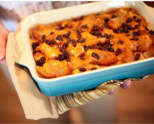 Yvette Marquez-Sharpnack shares her secret family recipe for the classic Mexican Lent bread pudding Capirotada.