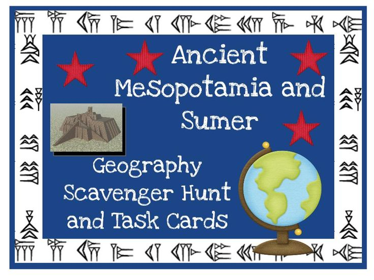 151 best ancient civilizations images on pinterest history ancient mesopotamia and sumer geography scavenger hunt and task cards fandeluxe Images