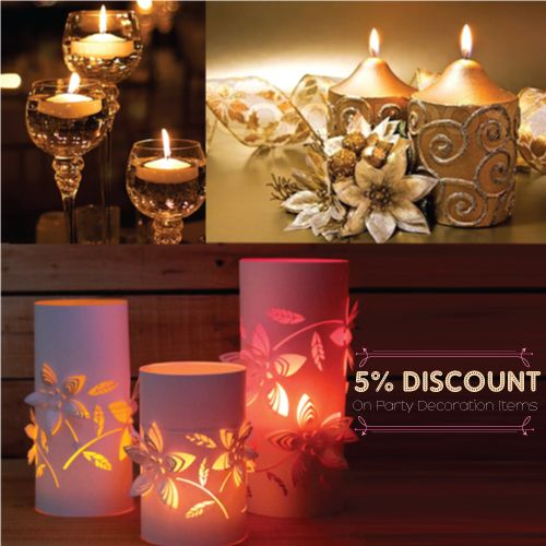 Give A Special Festive Look To Your Home On #Diwali With Beautiful #Decorative Items like Earthen Pots, Diyas, Dry flowers , Paper #Lanterns & #Candles !!  Follow The Link: http://shopindeal.com/Details/-Flat--5-percent-Off-On-All-Types-Of-Party-Decoration-Items/269/Chinchwad