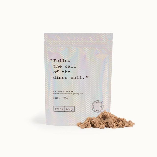The scrub with a 50,000 person waitlist is back – with 3x the shimmer. Made with the same coffee and sugar base to exfoliate, moisturise, and leave your skin glowing.