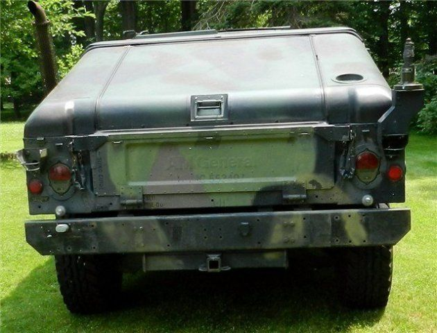 military slant back for sale | about 1987 us military tp22 slant back humvee for sale in copley ohio ...