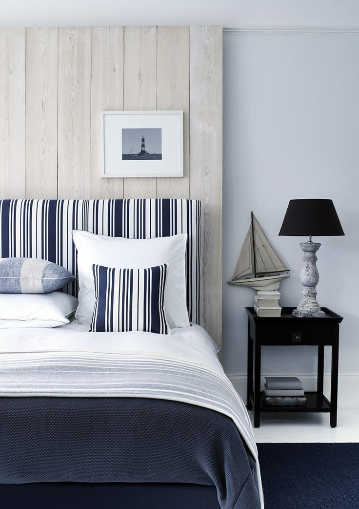 Great Coastal Style From Neptune With Beachy Nautical Stripes