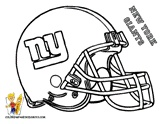 NY Giants Coloring Page