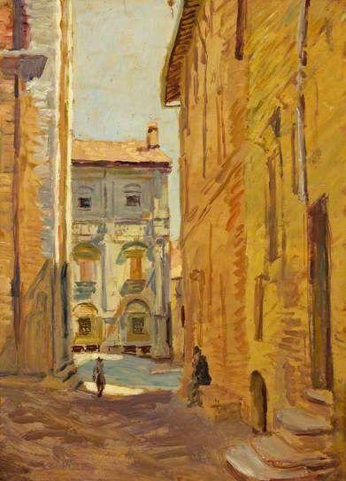 Toscane, Pienza, par Duncan Grant