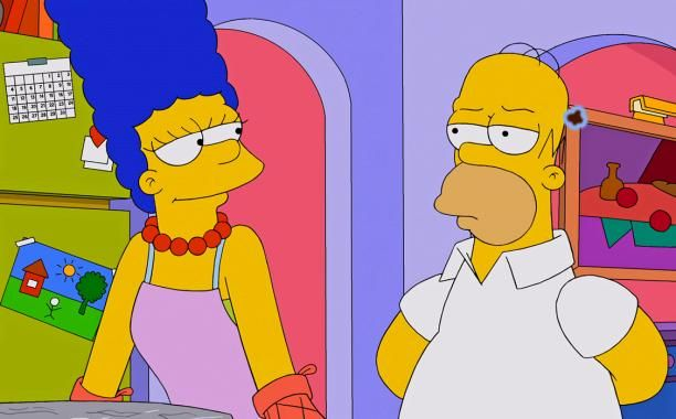 Homer and Marge squash split rumors in new 'Simpsons' video