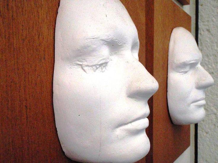Jemné masky z vlastní tváře - uchování vzpomínek na Vaše společné výročí nebo třeba na okamžik krátce po svatbě. :-)