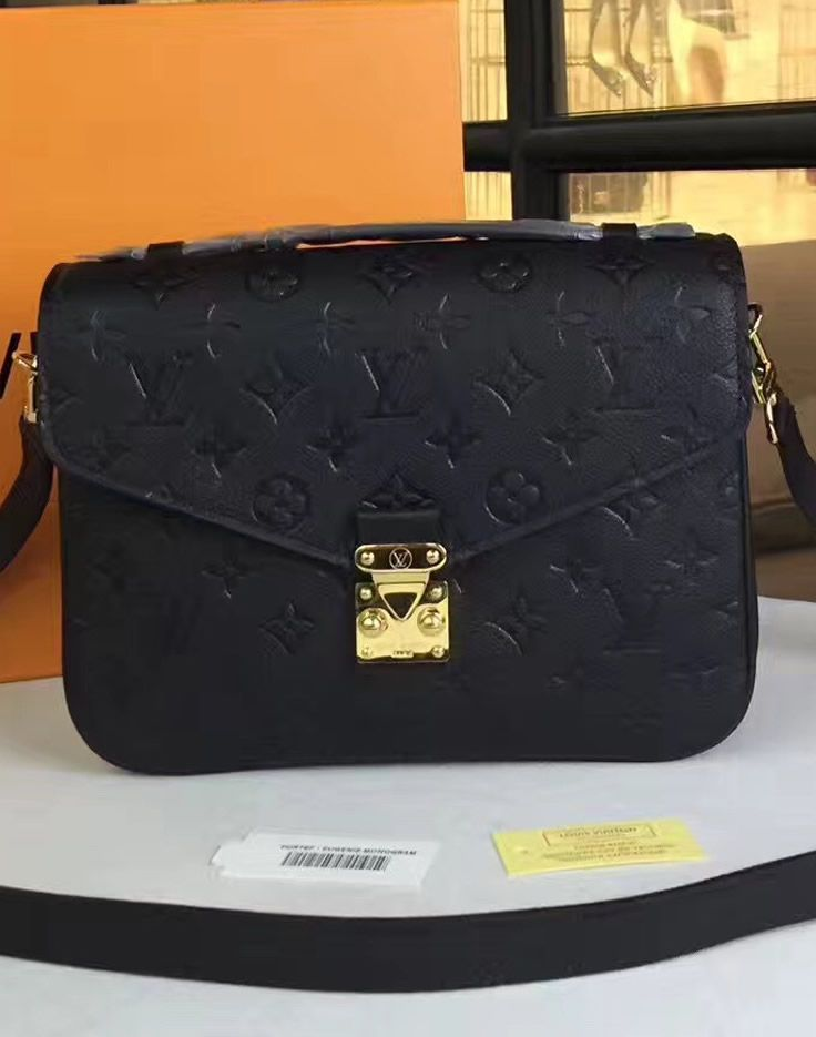 Some of the most successful LV bags are Pochette Metis and those with Monogram Canvas. As such, this giant decided to create all-new kind of the bag that will bring the best of the both worlds. Thanks to this decision, now we have the Monogram Empreinte Pochette Metis bag.  See details at http://www.luxtime.su/louis-vuitton-monogram-empreinte-pochette-metis-m41487-black