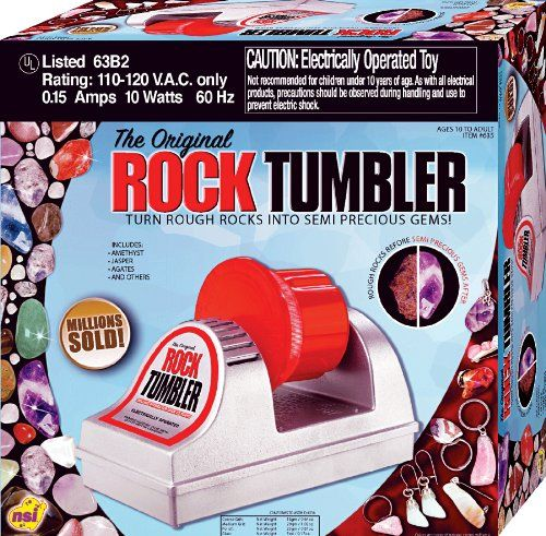 Rock Tumblers rock!!  Best Christmas Toys for 10 Year Old Boys 2015