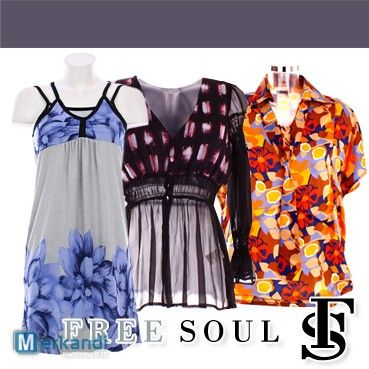 FREESOUL clothes for women at wholesale price