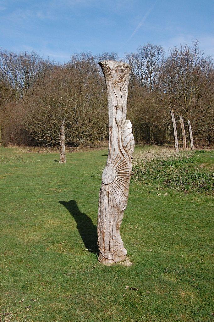 Wood henge at Hainault