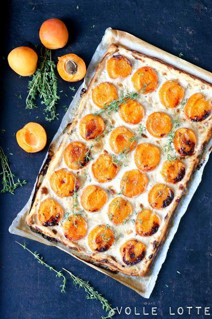 Volle Lotte: Aprikose-Thymian-Tarte mit einem Hauch Vanille