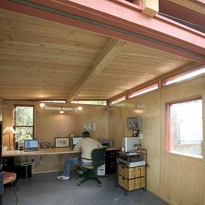 52 best shed images on Pinterest Backyard studio Modern shed