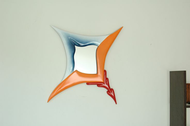 It's hanging ! New Notify Mirror Art !