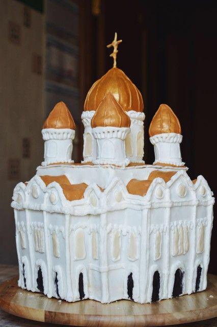 Пряничный домик. Храм Христа Спасителя
