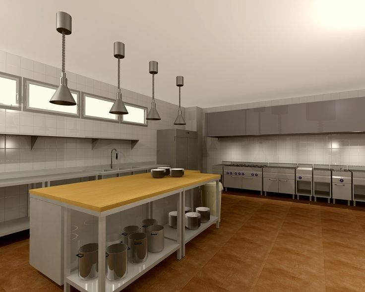 Commercial kitchen design theory commercial kitchen for Professional kitchen design