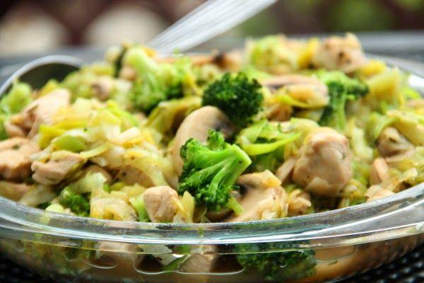 Nourishing and light dinner! :) I also added some cauliflower