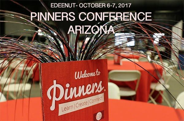 coming up in Arizona, October 2017 Pinners conference, where pinterest comes to life. sewing classes taught by edeenut and many other classes from talented teachers!