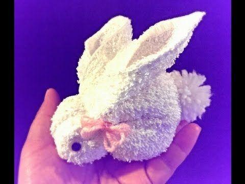 Craft Life Easy DIY Washcloth Bunny Rabbit Tutorial for ...