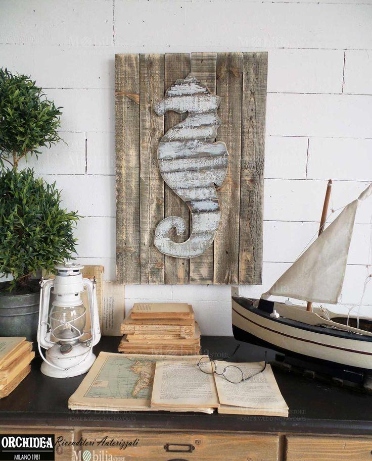 oltre 10 fantastiche idee su arredamento con cavalluccio marino su ... - Arredamento Shabby Marino