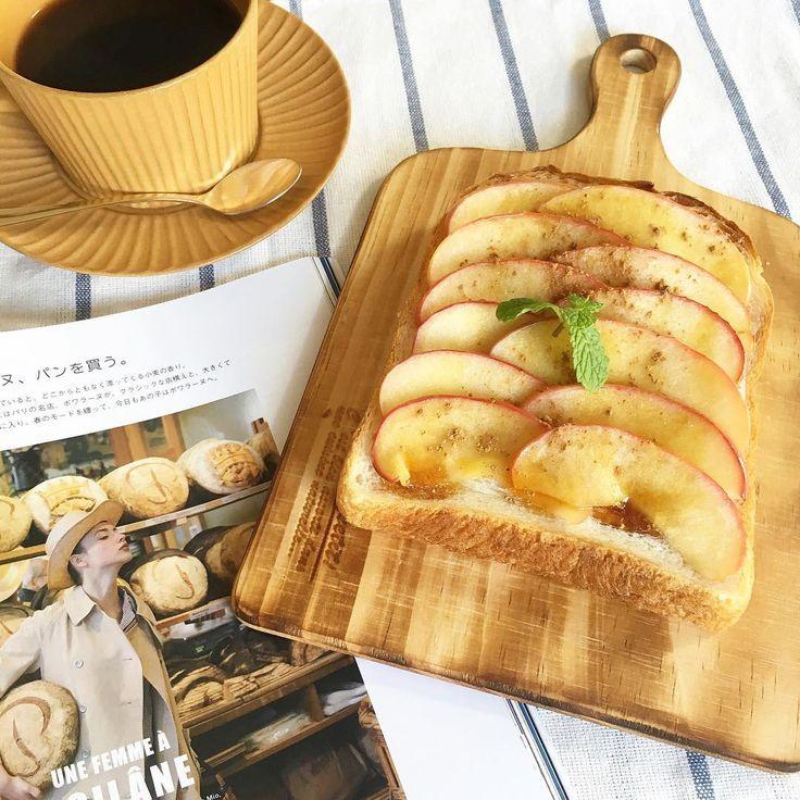 りんごが旬の季節におすすめなのが「りんごを乗せるだけトースト」です。香ばしいさっくりトースト×あつあつジューシーりんごのコラボがたまりません。インスタでもりんごトーストにハマる女子が急増しています。やみつき間違いなしの絶品りんごトーストを作ってみませんか?