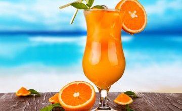 Cocktail analcolico alla frutta Mirabilis