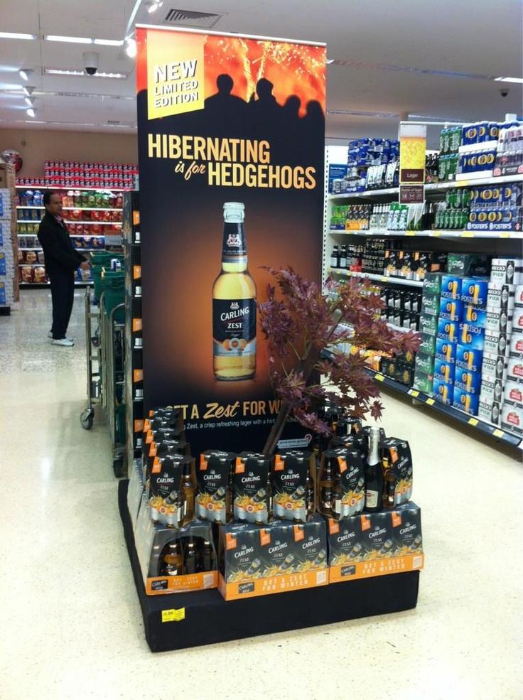 Supermarket Design | Instore Promotions | Retail Design | Point of  SalesTesco beer display